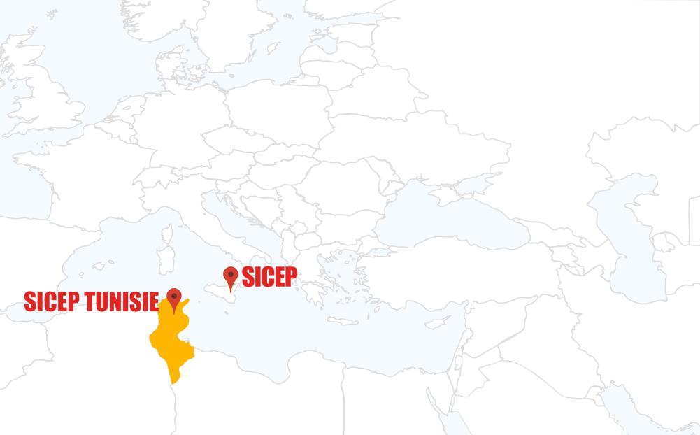 SICEP - Attività estere